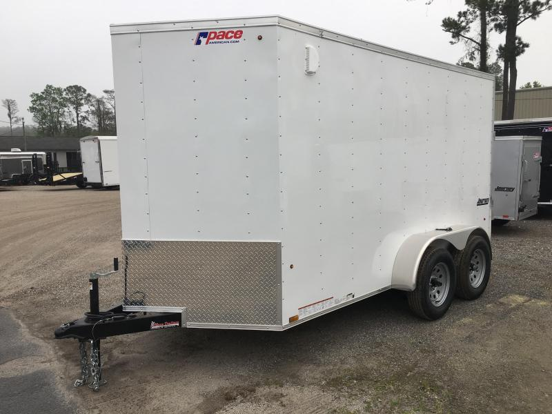 JV6X12TE2 PACE AMERICAN 6 X 12  ENCLOSED CARGO TRAILER