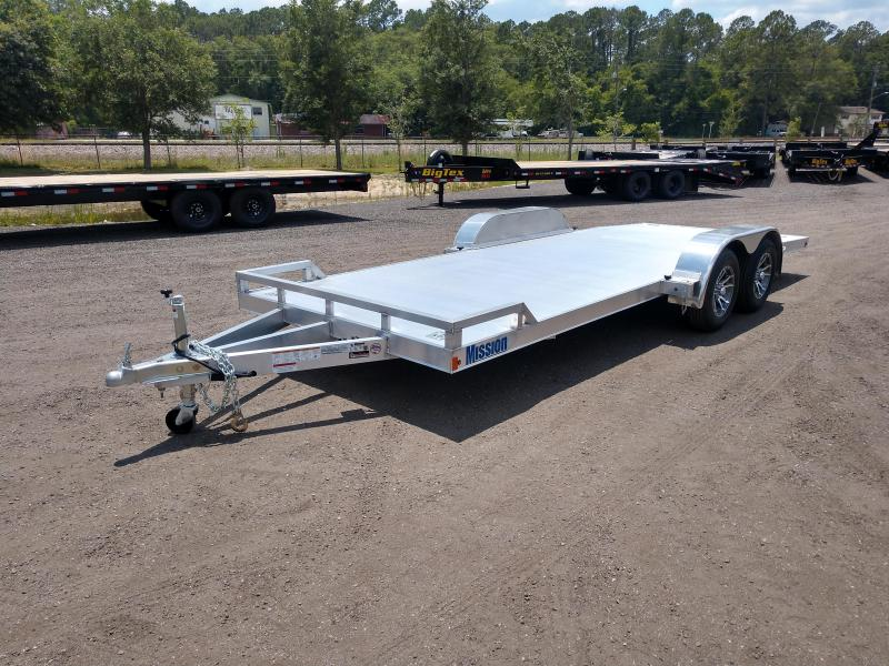 MOCH 8 X 20 MISSION 20' ALUMINUM CAR HAULER W/ 6' RAMPS