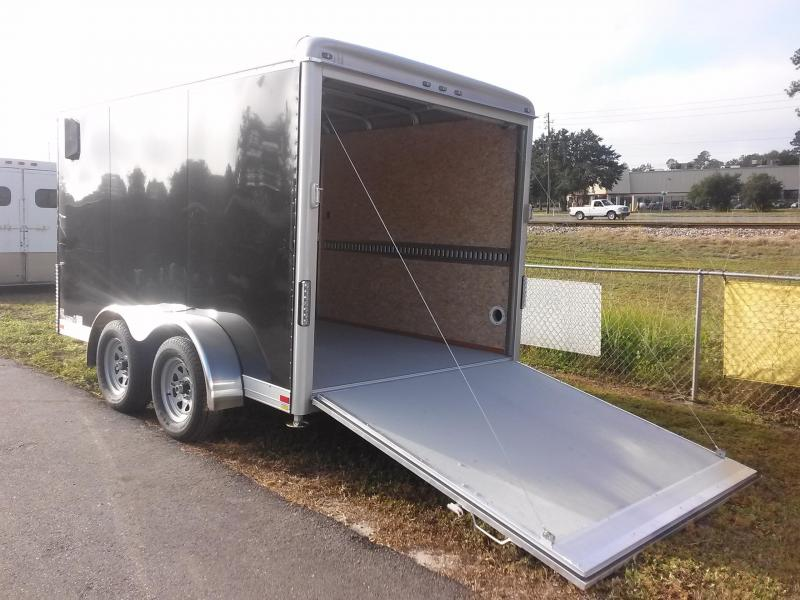 CW1222-102 WELLS CARGO 7X12 CARGO WAGON ENCLOSED CARGO TRAILER W/ RECESSED E-TRACK