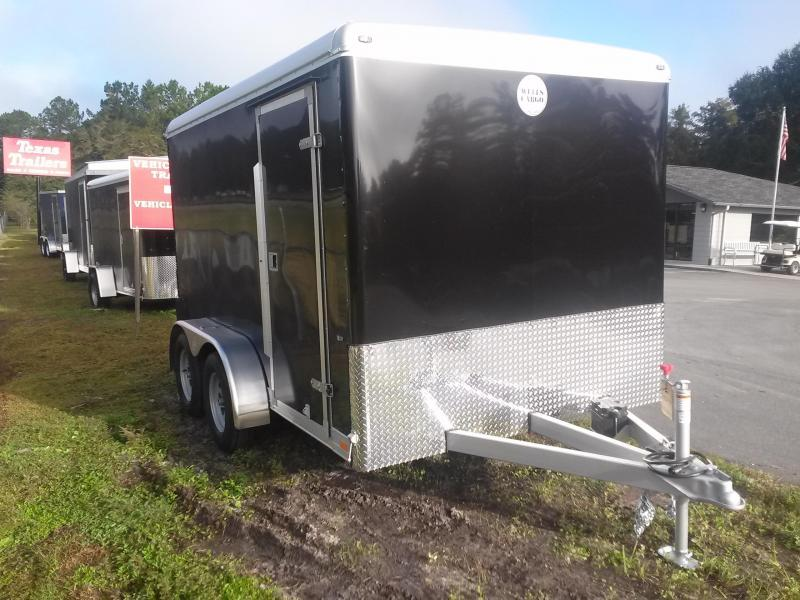 CW1222-102 WELLS CARGO 7X12 CARGO WAGON ENCLOSED CARGO TRAILER W/ RECESSED E-TRACK in Ashburn, VA
