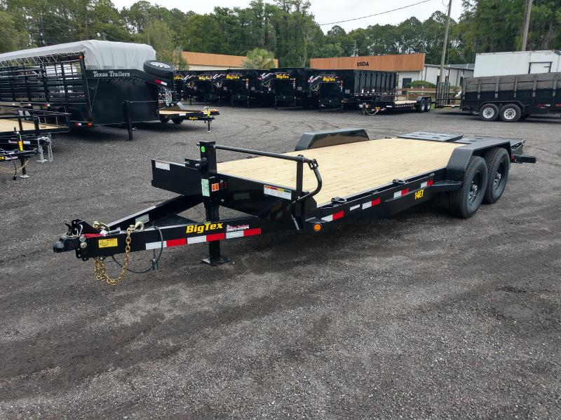14ET-20BK-MR BIG TEX 20' TANDEM AXLE EQUIPMENT TRAILER W/ MEGA RAMPS in Ashburn, VA