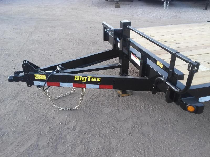 14ET-20BK-MR BIG TEX 20' TANDEM AXLE EQUIPMENT TRAILER W/ MEGA RAMPS