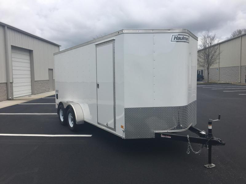 PPT7X16DT2 HAULMARK 7 X 16 ENCLOSED CARGO TRAILER