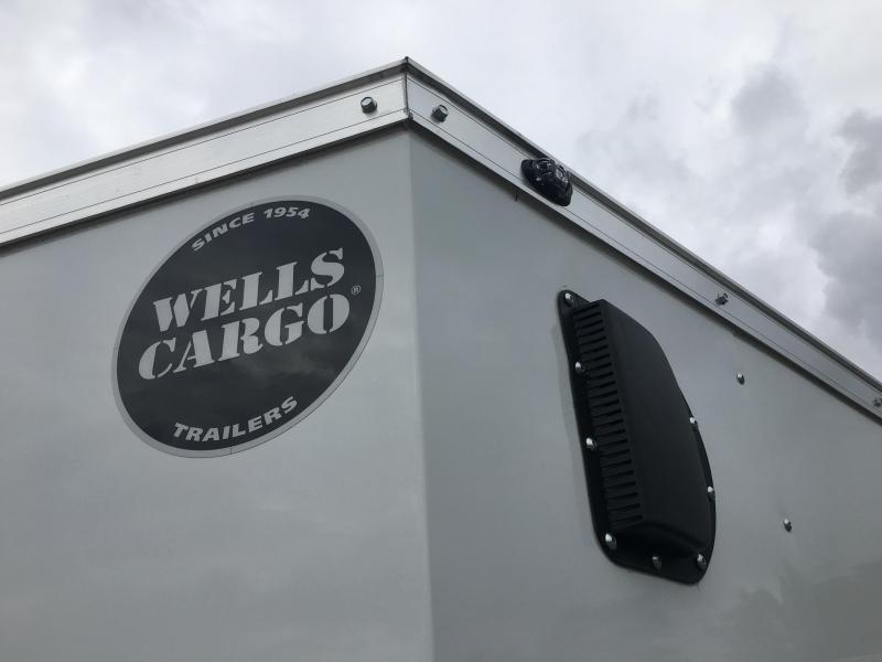 WCVG612S WELLS CARGO 6X12 V-3000 SERIES ENCLOSED CARGO TRAILER