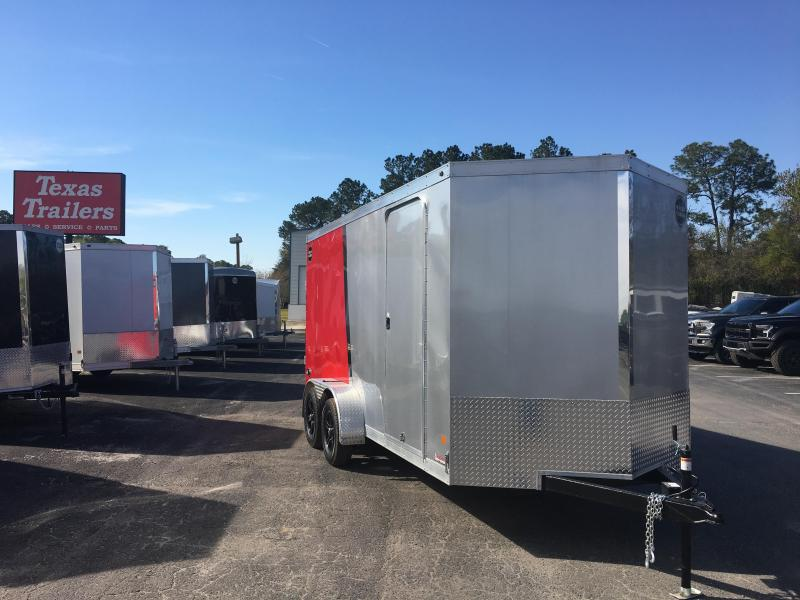 WCVG716T WELLS CARGO 7 X 16 7000 SERIES ENCLOSED CARGO TRAILER