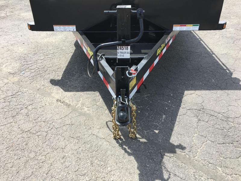 16ET-17+3MR BIG TEX EQUIPMENT TRAILER WITH MEGA RAMPS