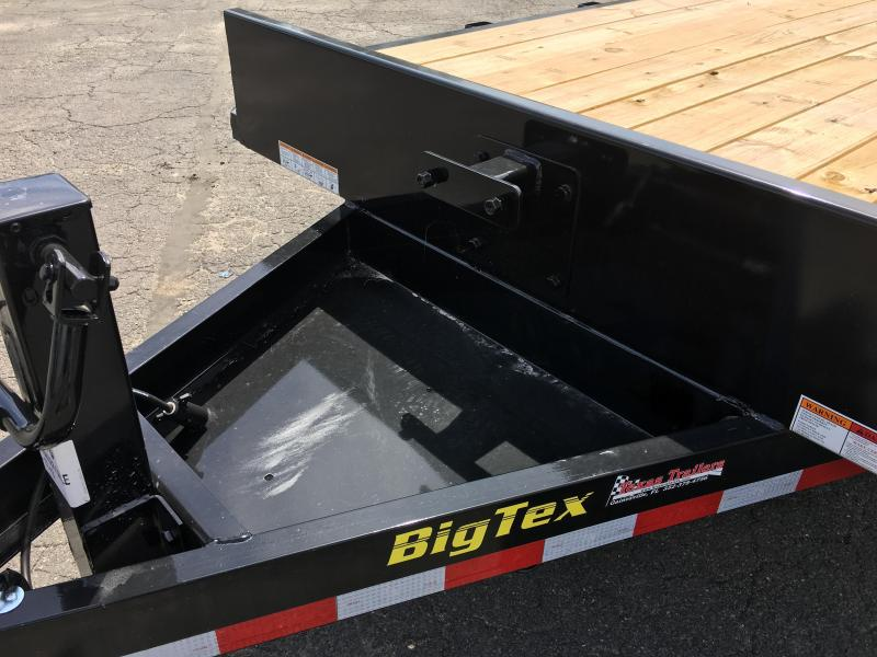 16ET-17+3MR BIG TEX EQUIPMENT TRAILER WITH MEGA RAMPS