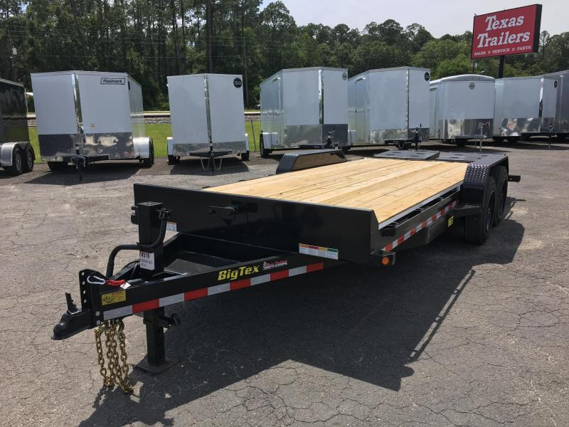 16ET-17+3MR BIG TEX EQUIPMENT TRAILER WITH MEGA RAMPS in FL