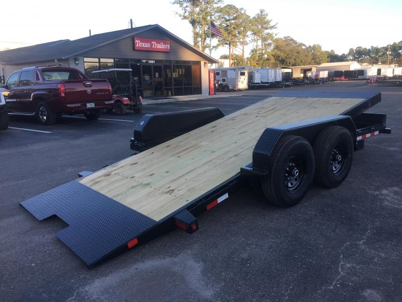 14FT-16BK BIG TEX 16' TANDEM AXLE FULL TILT DECK EQUIPMENT TRAILER in FL
