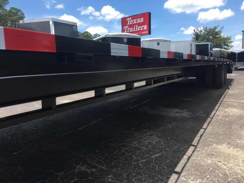 FB4024G TEXAS TRAILERS 40' GOOSENECK DECK OVER FLATBED W/ CUSTOM OPTIONS