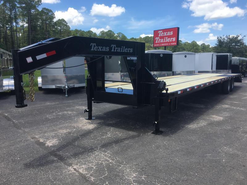 FB4024G TEXAS TRAILERS 40' GOOSENECK DECK OVER FLATBED W/ CUSTOM OPTIONS in Ashburn, VA