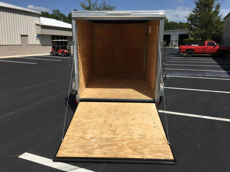 JV6X10SI2 PACE AMERICAN 6 X 10 ENCLOSED CARGO TRAILER
