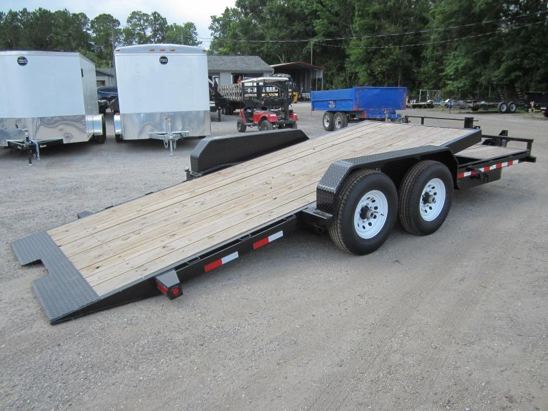 14TL-20BK BIG TEX 20' TANDEM AXLE TILT DECK EQUIPMENT TRAILER in FL