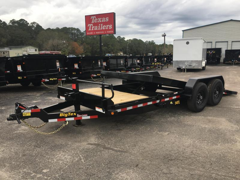 14TL-20BK BIG TEX 20' TANDEM AXLE TILT DECK EQUIPMENT TRAILER in Ashburn, VA