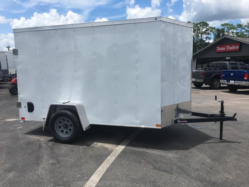 WCVG612S WELLS CARGO 6X10 V-1000 SERIES ENCLOSED CARGO TRAILER