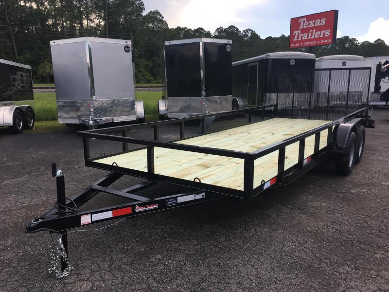 "UT62070 TEXAS TRAILERS 6'10""X20' UTILITY TRAILER in Ashburn, VA"
