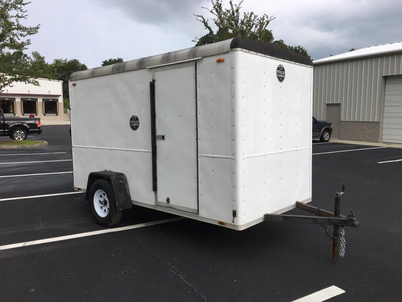 1989 WELLS CARGO 6X12 ENCLOSED CARGO TRAILER