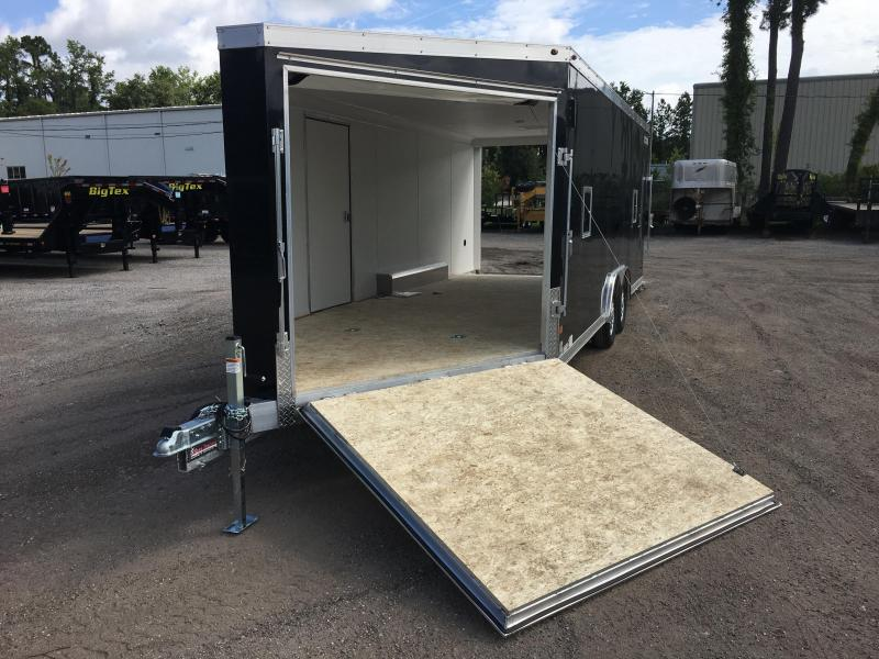 HASA85X20WT2 HAULMARK 8.5' X 20' ALL SPORT ALUMINUM ENCLOSED TRAILER