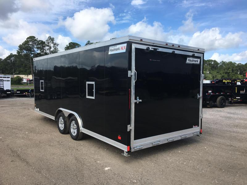 HASA85X20WT2 HAULMARK 8.5'X20' ALL SPORT ALUMINUM ENCLOSED TRAILER