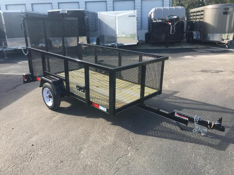 LM4820 TEXAS TRAILERS 4X8 LAWN MAINTENANCE TRAILER