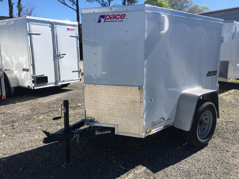 JV4X6SI2 PACE AMERICAN 4 X 6 CARGO TRAILER
