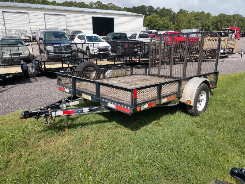 "2012 PJ 82"" X 10' UTILITY TRAILER W/ REMOVABLE SIDES"