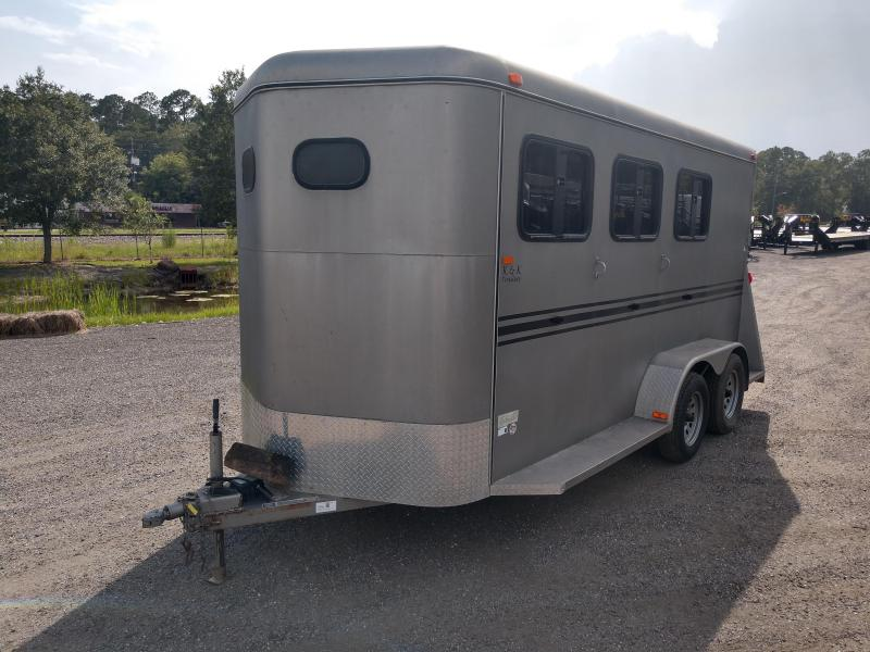 2012 BEE 16' (3)-HORSE TRAILER W/ 2 DIVIDERS & TACK