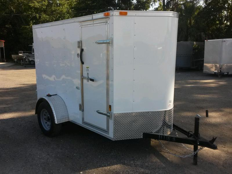 GANS58SA CARGO MATE 5 X 8 ENCLOSED CARGO TRAILER W/ DOUBLE REAR DOORS AND SIDE DOOR in Ashburn, VA