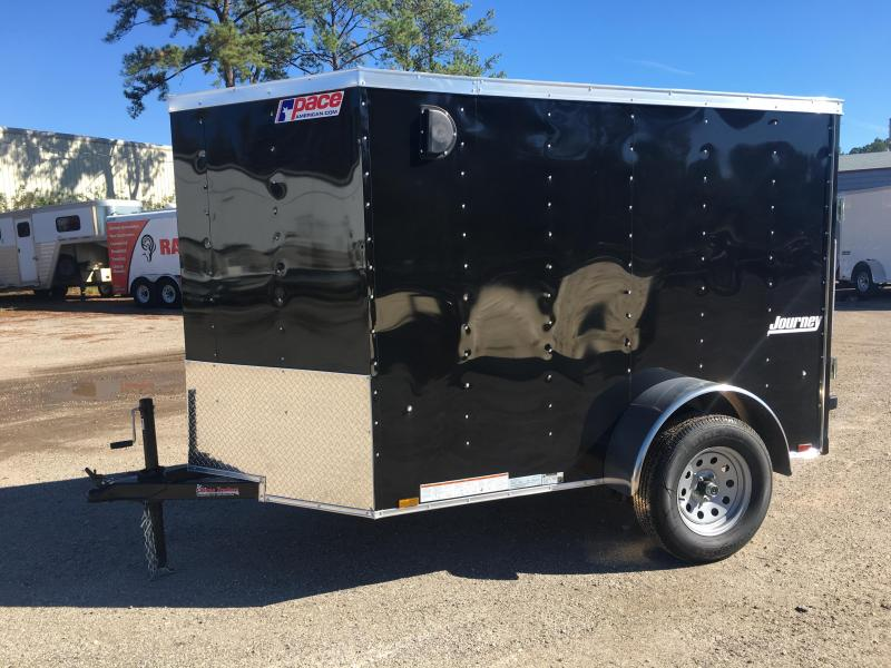 JV5X8SI2 PACE AMERICAN 5 X 8 ENCLOSED CARGO TRAILER