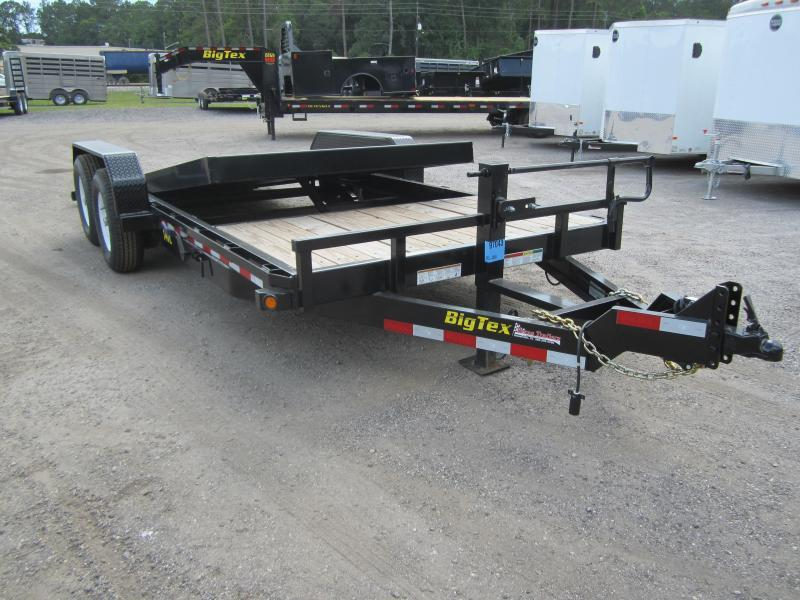 14TL-22BK BIG TEX 22' TANDEM AXLE TILT DECK EQUIPMENT TRAILER in FL