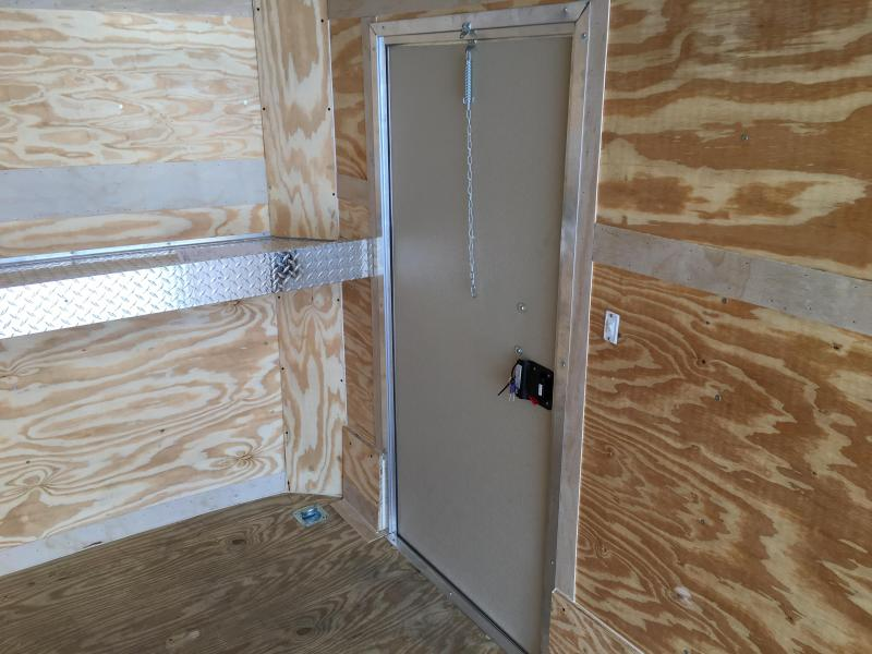 CS7X18TE3 PACE AMERICAN 7X18 CARGO SPORT ENCLOSED TRAILER W/ 5200# AXLES
