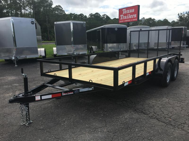"UT61670 TEXAS TRAILERS 6'10""X16' UTILITY TRAILER in Ashburn, VA"