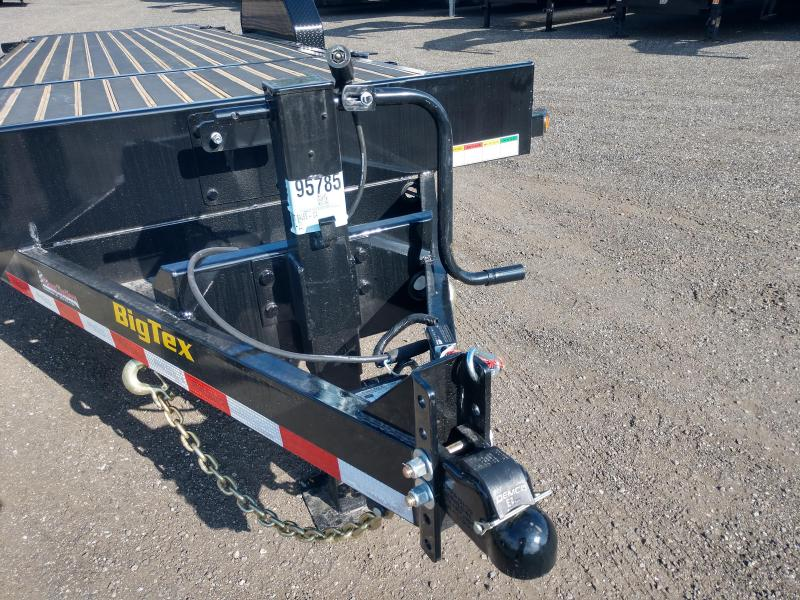 16TL-22BK BIG TEX 22' TANDEM AXLE TILT TRAILER W/ BLACKWOOD FLOORING