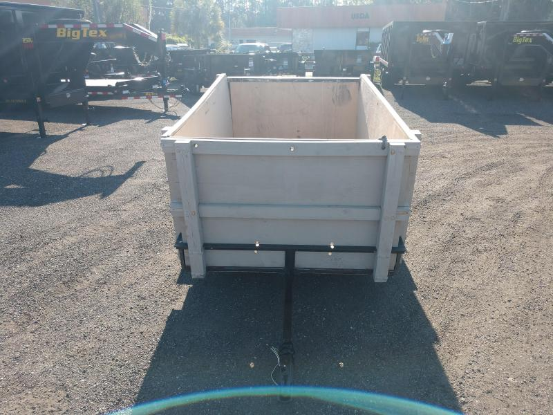 2010 CARRY-ON 5 X 8 UTILITY TRAILER W/ WOOD SIDES