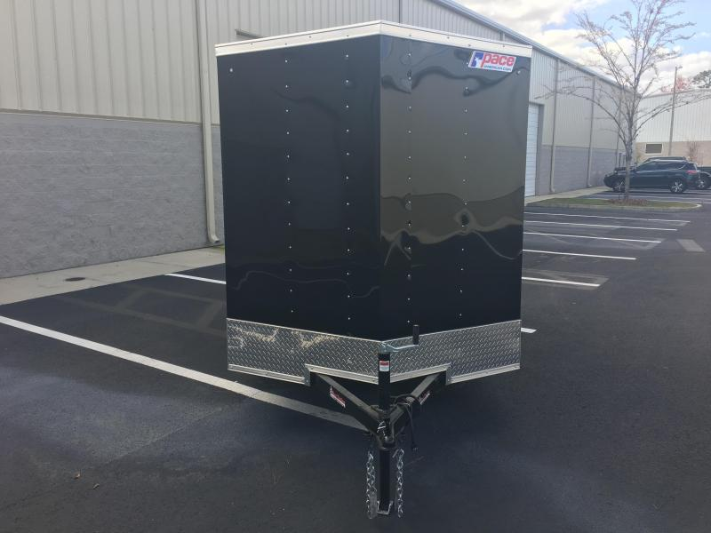 OB6X12SI2 PACE AMERICAN 6 X 12 ENCLOSED CARGO TRAILER