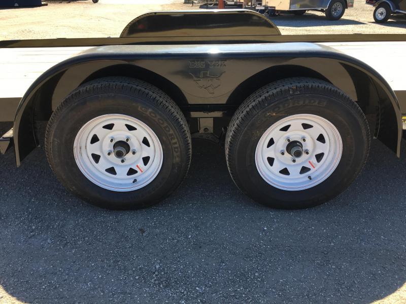 70CT-20BK BIG TEX 20' TILT DECK CAR HAULER