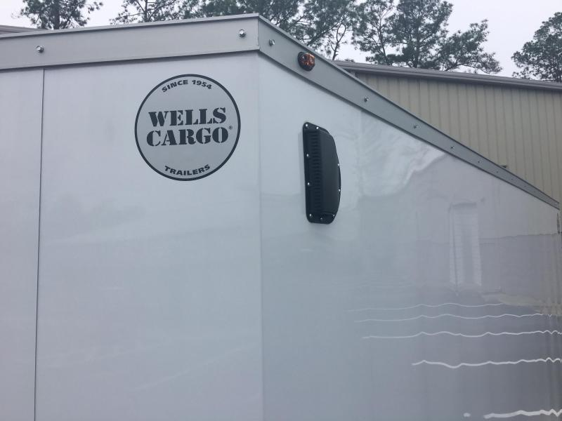 WCVG716T WELLS CARGO 7X16 V-5000 SERIES ENCLOSED CARGO TRAILER