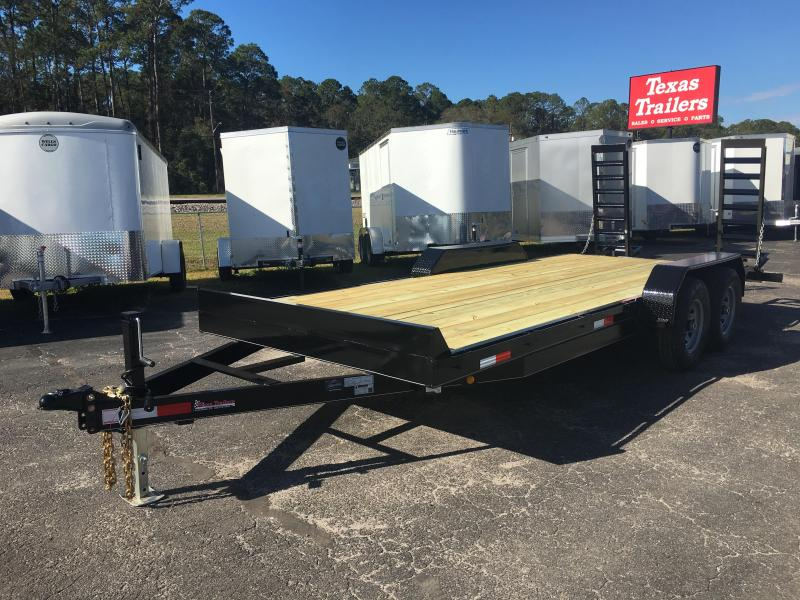 EQ2014B TEXAS TRAILERS 20' 14000# EQUIPMENT TRAILER in Ashburn, VA