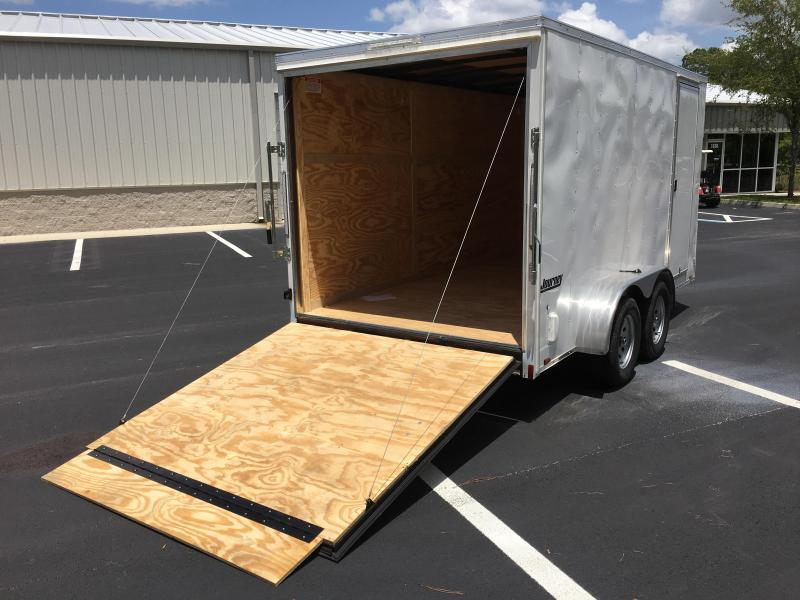 JV7X14TE2 PACE AMERICAN 7 X 14 ENCLOSED CARGO TRAILER