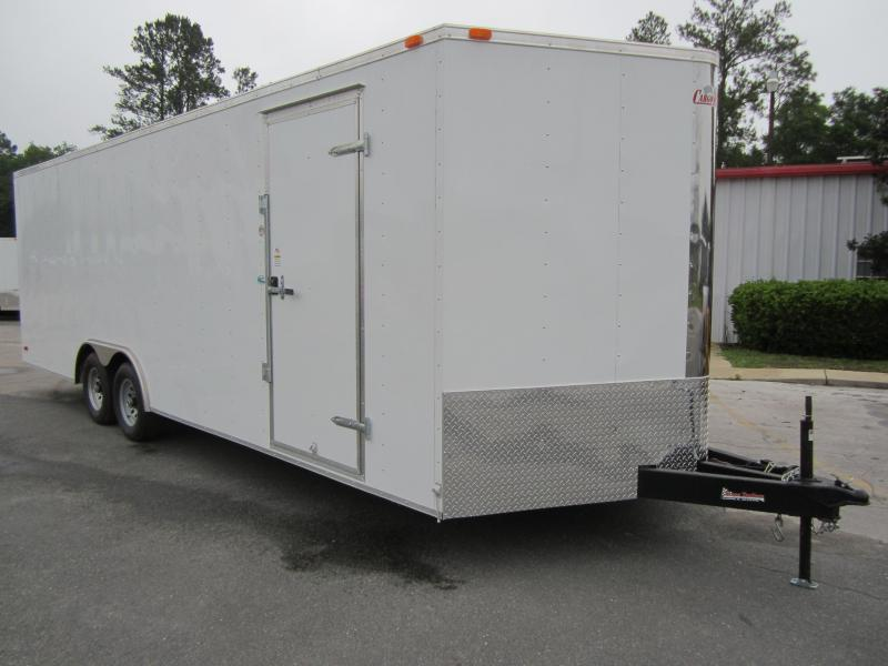 GANS8524TA3 CARGO MATE 8.5 X 24 ENCLOSED CAR HAULER W/ 5200# AXLES in Ashburn, VA