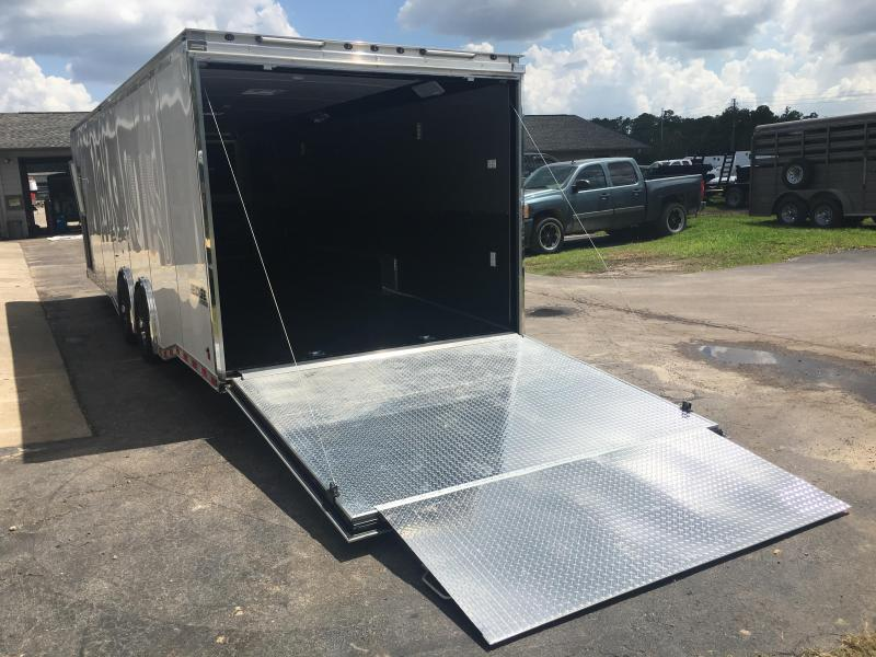 EGP85XWT4 HAULMARK 28' EDGE PRO CAR HAULER W/ CUSTOM OPTIONS