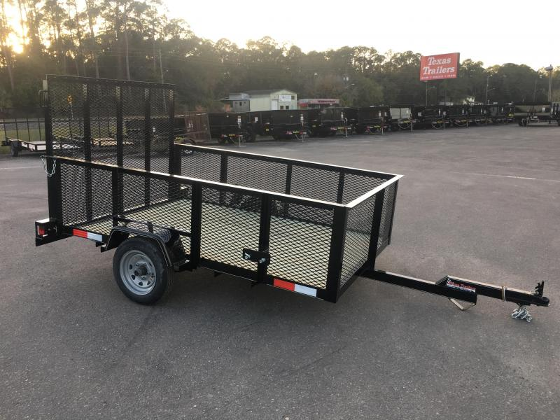 LM5820 TEXAS TRAILERS 5X8 LAWN MAINTENANCE TRAILER in Ashburn, VA
