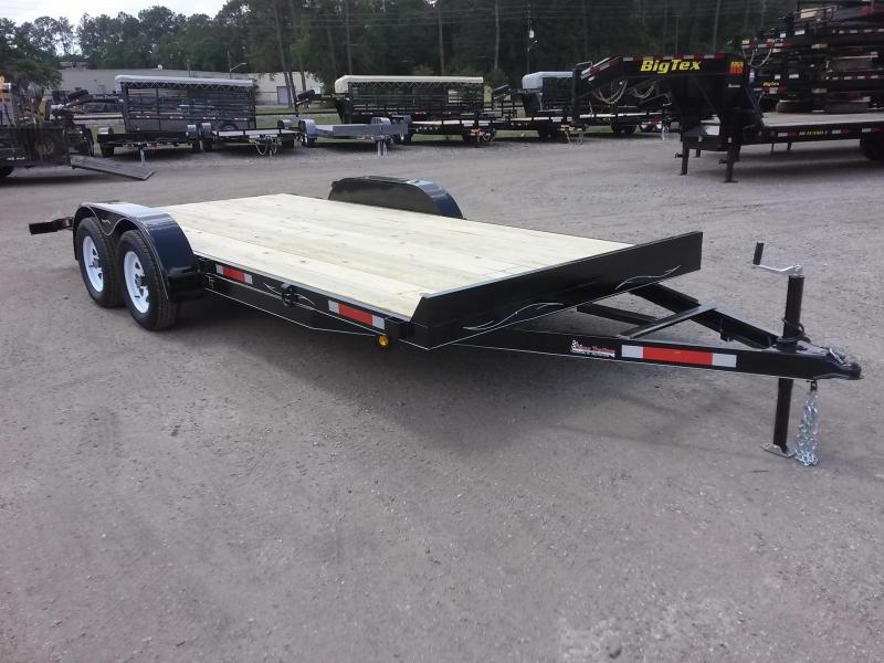 CH1670 TEXAS TRAILERS 16' CAR HAULER W/ SLIDE OUT RAMPS in Ashburn, VA