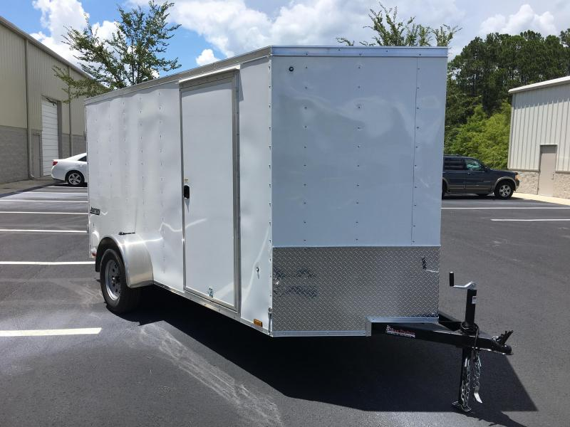 JV6X12SI2 PACE AMERICAN 6 X 12 ENCLOSED CARGO TRAILER W/ DOUBLE REAR DOORS