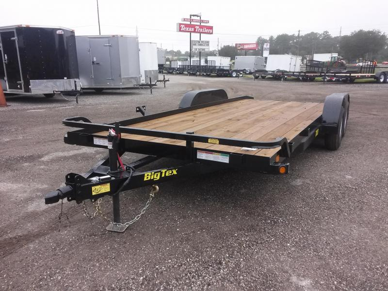 70CH-20BKDT BIG TEX 20' CAR HAULER W/ SLIDE OUT RAMPS in Ashburn, VA