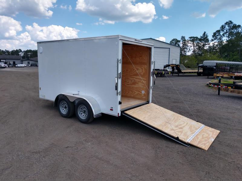 GANS612TA2 CARGO MATE 6 X 12 TANDEM AXLE ENCLOSED CARGO TRAILER