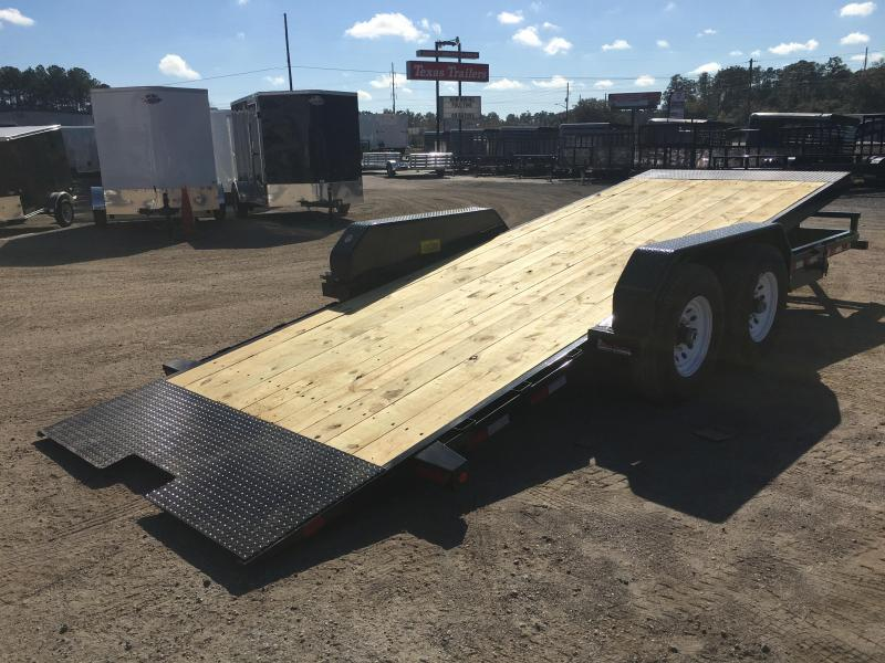 14FT-20BK BIG TEX 20' TANDEM AXLE TILT DECK EQUIPMENT TRAILER in FL