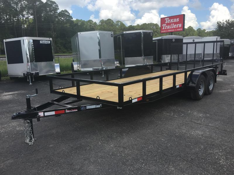 "UT62010 TEXAS TRAILERS 6'10""X20' UTILITY TRAILER W/ CUSTOM OPTIONS in Ashburn, VA"