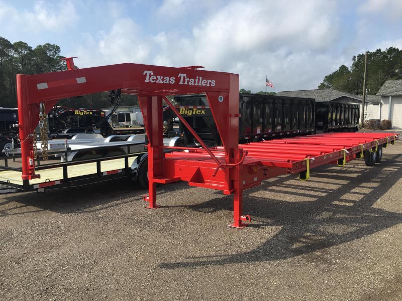 CT3516G TEXAS TRAILERS 35' CUSTOM ROLLER TRAILER in Ashburn, VA