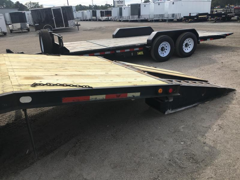 2004 BELSHE 25' FLATBED TRAILER W/ AIR BRAKES